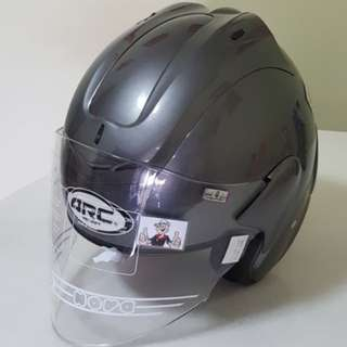 0403***ARC Ritz Gloss Grey Helmet For Sale 😁😁Thanks To All My Buyer Support 🐇🐇 Yamaha, Honda, Suzuki