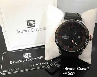 👏   *BRUNO CAVALLI* Original Garansi Mesin 1 Tahun Material : Leather Include box & Guarantee Tgl & Hari Active  Ready 6 Warna Sesuai Foto HARGA 365rb