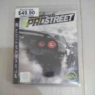 PS3 Game Need for Speed ProStreet