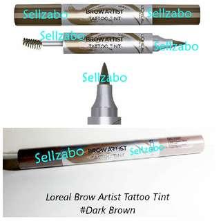 #Dark Brown L'oreal Eyes Brow Pen Artist Tattoo Tint Eyebrows Eyesbrow Makeup Cosmetics Beauty Colour Loreal