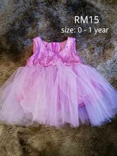 Pre-love custom made dress