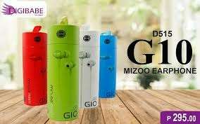 Gio g10 earphone