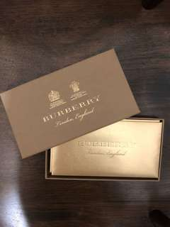 Burberry angbao red packet envelope