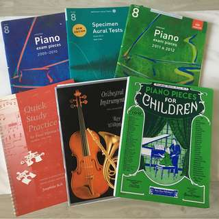 Piano scores practical books