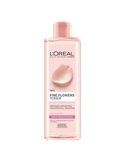 L'Oréal fine flowers toner for sensitive and dry skin