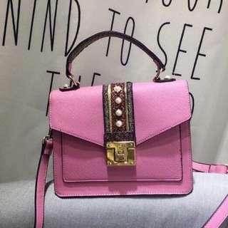 Aldo Whipster Pink Crossbody Bag