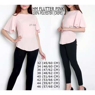 H&M Flouter Pink