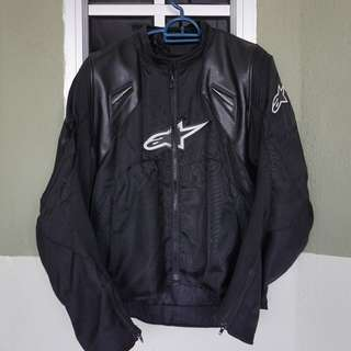 Beat up Alpinestars Motorcycle Riding Jacket