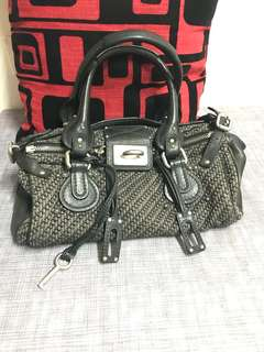 Chloe Paddington Tweed Bag