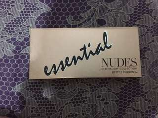 Essentials Nudes Eyeshadow Collection