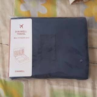 BN Diniwell Travel Multi Pouch ver.2 in navy blue