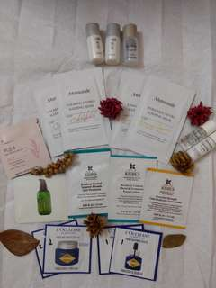 Assorted Skin Care Samples