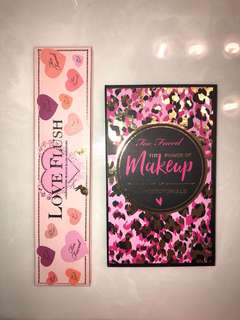 Too Faced palettes set