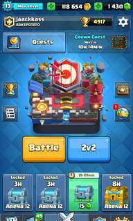 Clash Royale Account max level