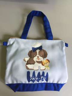 Shih Tzu Dog Lunch Bag