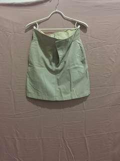 Rok mini khaki