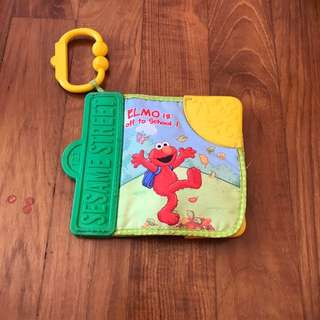 Sesame Street Cloth Book