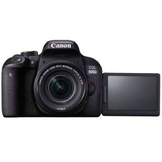 Canon Eos 800d EF-S 18-55mm f/4-5.6 IS STM Lens