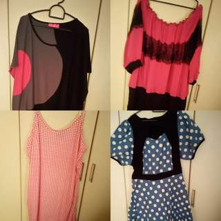 Plus size dress, outer cardigan,tops,jumper Size UK 22 TO 28