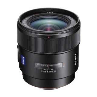 BNIB Sony Distagon T* 24mm f2 lens