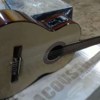 Gitar akustik elektrik classic nilon new eq7545