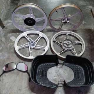 Sport Rim/bakul/sight mirror