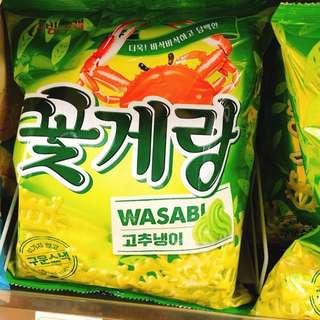 薯片 wasabi 韓國