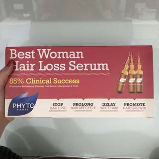 Phyto best woman hair loss serum
