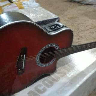 Gitar akustik elektrik ibanez new