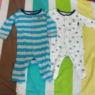 Carter's Long Sleeves Onesies