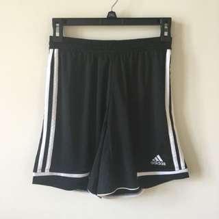 Adidas athletic running shorts