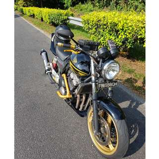 CB400 Spec 3 COE 2027 $13700 Negotiable (Blank Panther)
