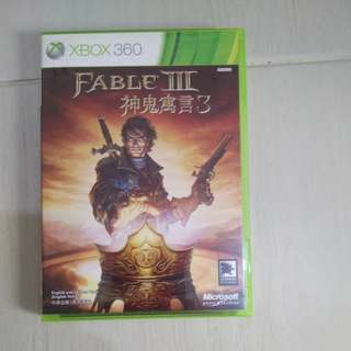 Xbox 360 Games Fable 3