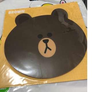 LINE Brown Bear Mousepad