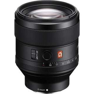 BNIB Sony 85mm f1.4 GM Lens