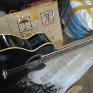 Gitar acccustik elektrik anib top
