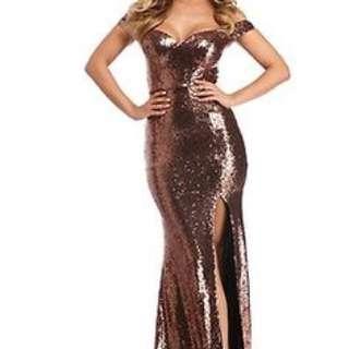 Evanna Copper Dress / Windsor Store / Dress