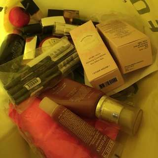 Lots and lots of makeup & skincare
