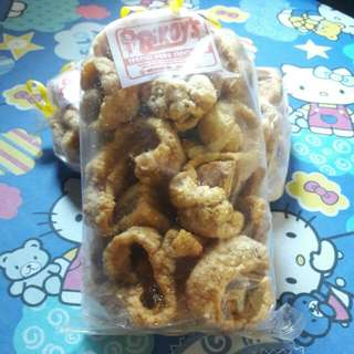 Legit backfat chicharon 170php additional 40php for the shipping fee
