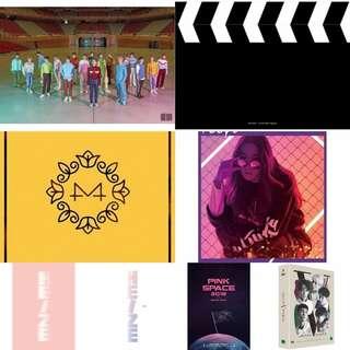 [PRE-ORDER] : NCT 2018 / JUNG IL HOON / HEIZE / JANG MOON BOOK / APINK / MAMAMOO & SHINEE