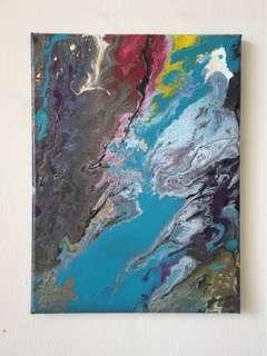 Stream | Acrylic painting