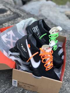 The ten ; off white vapourmax PK for sale