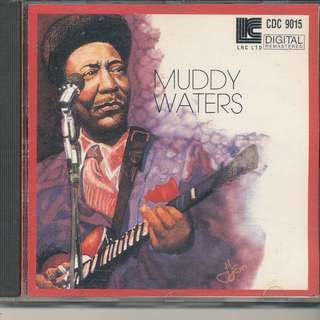 Muddy Waters Muddy Waters [Black Label] AUDIO CD (MADE IN GERMANY) [x8]