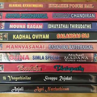 Tamil Super hit movies DVDs