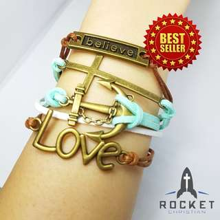 Multi-Bracelet - Anchoring your Belief in Christ with Love (Available Now)