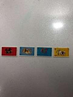香港郵票-農曆生肖馬年(第二組)