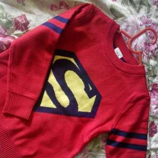 Sweater superhero