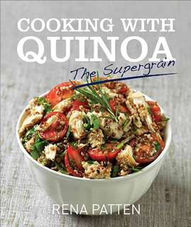 Cooking with Quinoa recipe / cook book (brand new and unopened)
