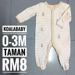 0-3m Baby Sleepsuit
