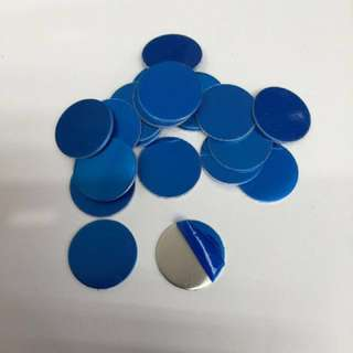 (10 pcs) Aluminium hand stamping blanks 25mm